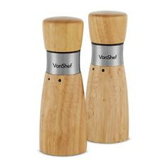 Wooden Salt And Pepper Hand Mills For Sale Ebay
