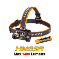 Fenix HM65R Spot and Flood light 1400 Lumens Rechargeable Headlamp Headlight