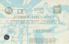 JOHNNY HALLYDAY TICKET DE CONCERT ORIGINAL VINTAGE STADE DE FRANCE 6 9 1998