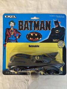 1989 ERTL BATMAN BATMOBILE Die-cast metal 1/43 SCALE NRFB TM & DC Comics #2575