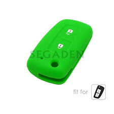 Silicone Case Cover fit for NISSAN Qashqai Juke Micra Remote Key Fob 2 Button LG