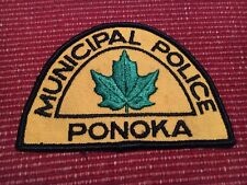 Ponoka Canada Police patch