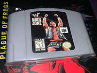 WWF War Zone (Nintendo 64, 1998) N64 Authentic