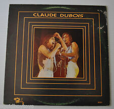CLAUDE DUBOIS: Self-Titled LP Record Quebec 1974 French
