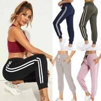 Womens Star Print Sports Gym Joggers Pants Bottoms Jogging Trousers Sweatpants R