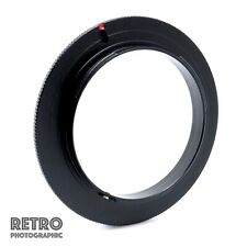 55mm Macro Reverse Lens Adapter Ring For Sony/Minolta A AF Mount - UK Stock