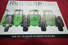 John Deere 4560 4760 4960 Tractor Dealer's Brochure AMIL15