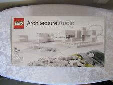 LEGO Architecture Studio (21050) COMPLETE Inventoried Set with BRAND NEW MANUAL!