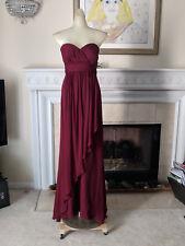 Jenny Yoo Collection  Strapless Long  Formal Dress Sz 10