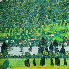 Gustav Klimt Forest on the slopes of the lake Atte canvas print giclee 8X8&12X12
