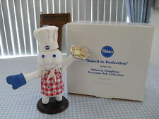 "The Danbury Mint - Pillsbury Doughboy Porcelain Doll - "" Baked To Perfection!"""