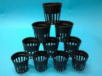 "25  2"" INCH NET CUP POTS HYDROPONIC SYSTEM  GROW KIT"