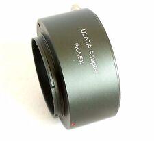 ULATA Lens Adapter +Rear Cap Pentax K PK  to Sony E Mount Camera A7 A6000 NEX