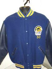 Vintage Hockey Lumber Jacks Cleveland Junior Hockey Team Jacket #30 Blue 38