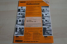 128582) Reck Güllemixer Prospekt 05/1986