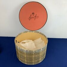 Vintage Peck & Peck Hat Box Hat Box