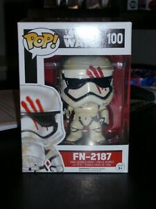 Funko Vinyl Pop  Star Wars FN-2187  #100