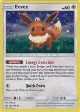 Pokemon TCG Evee 101/149 Sun & Moon Umbreon & Espeon Galaxy Holo Promo SKU122