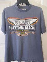 Kingstree Classic Daytona Bike Week 1999 Vintage Single Stitch T-Shirt Size Med