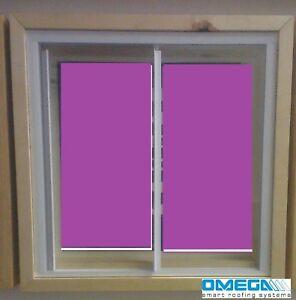 DIY Secondary Glazing Kit - Glazing Panel + Trackglaze Kit   Opening Unit
