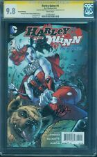 Harley Quinn 1 CGC 2XSS 9.8 2nd Pr Variant Conner Palmotti Suicide Squad Movie