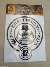 NEW HUNGER GAMES - NECA LICENSED DISTRICT 12 VINYL DECAL EXTRA LARGE Katniss