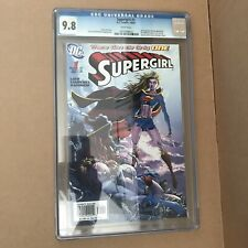 Supergirl #1 CGC 9.8 Ian Churchill variant 2005 DC CW TV