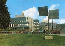 Ancienne carte postale-Gelsenkirchen-Centre de Formation et ville Théâtre