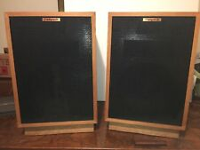Klipsch Heresy II (2) Speakers Pair Unstained/Naked Good Shape