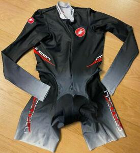 Brand New Original CASTELLI ROSSOCORSA BODY PAINT Cycling Tracksuit L
