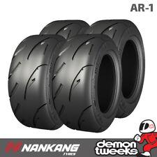 4 x Nankang 185/60/13 80V AR-1 Semi Slick Road / Track Tyres 1856013