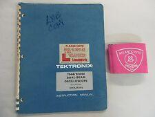Tektronix 7844r7844 Dual Beam Oscilloscope Operators Instruction Manual