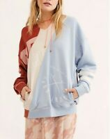 Free People Womens OB946414 Sweater Relaxed Multicoloured Size XS