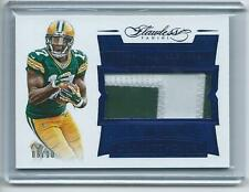 2016 Flawless FB #PADA Davante Adams Packers AUTH GAME-USED JERSEY RELIC #/10!!!