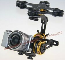 DYS 3 Axis  Brushless Gimbal 4108 Motor + AlexMos Controller For Sony NEX ILDC