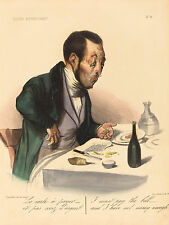 "Honore Daumier Reproductions: ""I must pay the bill, but..."": Fine Art Print"