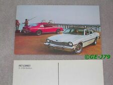 1977 Mercury Comet Postcard Ad NOS Ford New