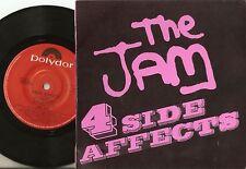 THE JAM 4 SIDE AFFECTS AUSTRALIA EP 45+PS 1981 MOD REVIVAL WELLER FOXTON BUCKLER