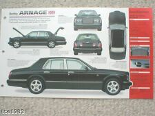 1998 Bentley ARNAGE IMP Brochure