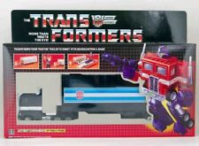 Transformers G1 Optimus Prime Black Nemesis Re-issue SEALED Reissue US NEW