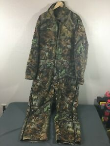 Walls Outdoors RealTree Camo Insulated Coveralls Size 2XL Regular