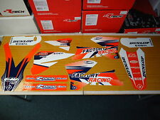 KTM SX SXF 125 250 300 450 05-06 EXC EXC-F 05-07 Flu PTS3 Graphics Sticker Kit