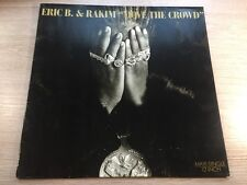 12 Maxi 45 RPM Island ‎– 609 700 Eric B. & Rakim ‎– Move The Crowd VINYL