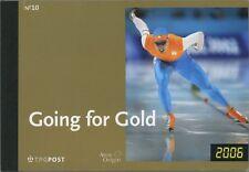 (65) NL Prestigeboekje Nr.10, Going for Gold, met aanbiedings brief hoofdsponsor