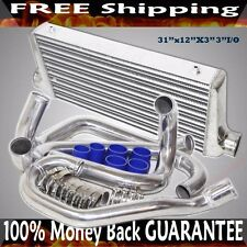 Intercooler+ Piping Kits +Silicone+Clamps COMBO fit 95-00 Subaru Impreza GC8
