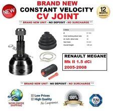 FOR RENAULT MEGANE Mk II 1.5 dCi 106 bhp 2005-2008 CONSTANT VELOCITY CV JOINT
