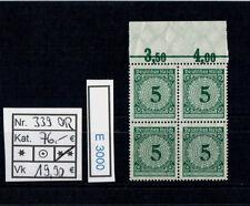 (e3000) Dr nº 339 ** con borde superior en viererblock