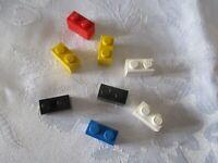 LEGO Brick Bundle -50  Pieces -Size 1x2 -JOB-LOT - Genuine Lego -Random Colours