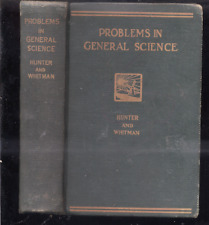 Problems in General Science, 1934 HC Hunter and Whitman GUC