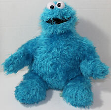2010 SESAME Street PLACE COOKIE MONSTER Blue BEAN FILLED STUFFED PLUSH Soft Toy
